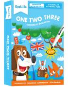 One, two, three - puuhakortit englannin opetteluun vasta-alkajille
