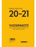 Open päivyri 20 - 21 (vuosipaketti)