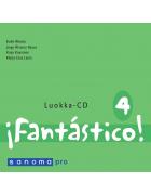 Fantástico 4 Opettajan CD