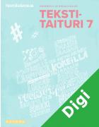 Tekstitaituri 7 Digitehtävät (OPS 2016)