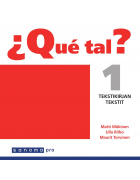 ¿Que tal? 1 Tekstikirjan tekstit Tekstikirjan CD