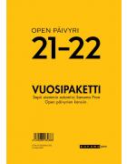 Open päivyri 21 - 22 Vuosipaketti