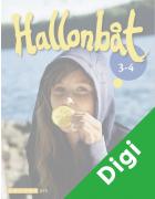 Hallonbåt 3 - 4 Digikirja