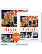 Historia ajassa 2: Painettu kirja & digikirja 6 kk