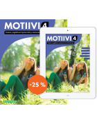 Motiivi 4 Tunteet, psyykkinen hyvinvointi ja mielenterveys: Painettu kirja & digikirja 6 kk