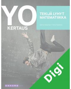 Yo-kertaus Tekijä lyhyt matematiikka -digikirja